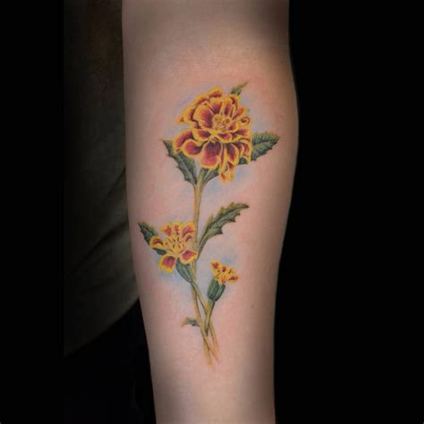 birth month flowers tattoos birth flower tattoos for october flower inspiration