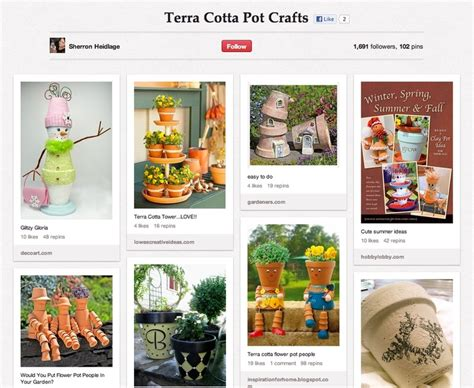 terra cotta crafts terra cotta pot crafts images craft ideas