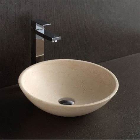 Modern Oval Bathroom Sinks Apollo Galala Limestone Oval Shape Basin Modern