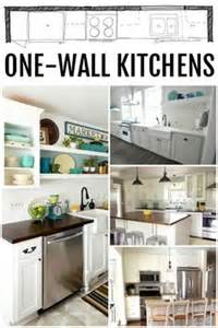 One Wall Kitchen Layout With Island by 1000 Ideas About One Wall Kitchen On Pinterest Kitchen