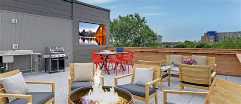 Rooftop Patio Minneapolis by Amenities Coz苴 Flats