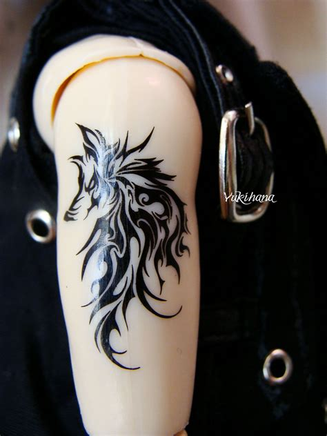 wolf tribal tattoo designs wolf tribal armband tattoos