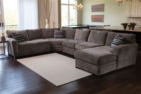Gardner White Sectionals by Four Right Arm Sectional