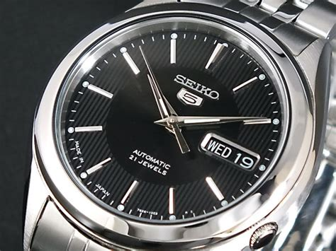 Seiko 5 Snx123k1 楽天市場 seiko 5 セイコー5 逆輸入 日本製 自動巻き メンズ 腕時計 snkl23j1 ブラック 215