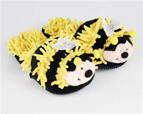 bumble bee slippers fuzzy bee slippers bumble bee slippers for