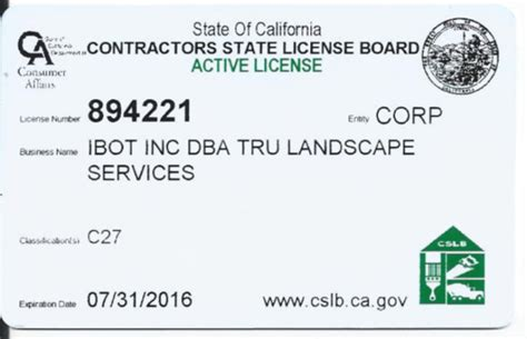 Landscape License Licensed Landscape Contractors Orange County Landscape