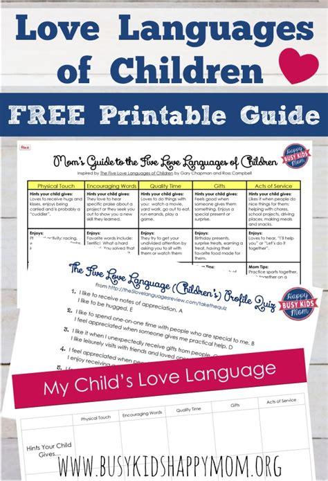 printable love quiz love languages test free