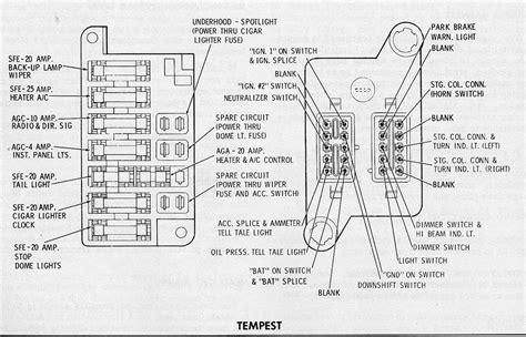 electrical wiring 1967 pontiac fuse box diagram sgfmdhq