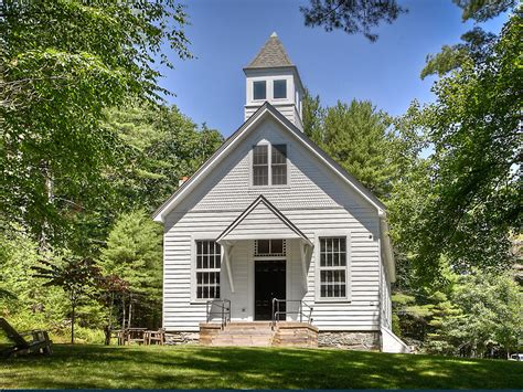 School House by House Of The Week A Converted One Room Schoolhouse