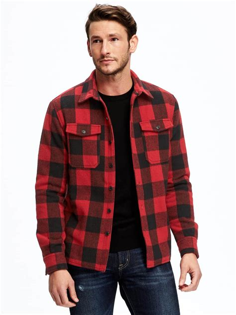 Plaid Shirt Jacket buffalo plaid shirt jacket clothes