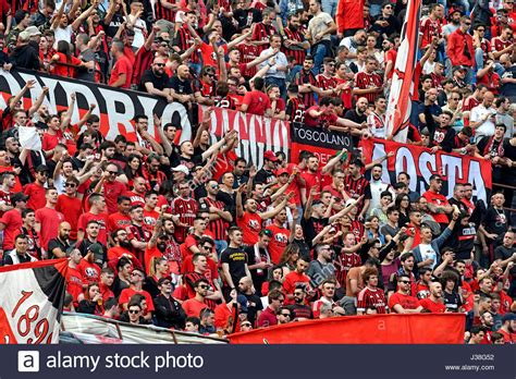 Mug Ac Milan Fans ac milan soccer fans at the san siro stadium in milan italy stock photo royalty free image