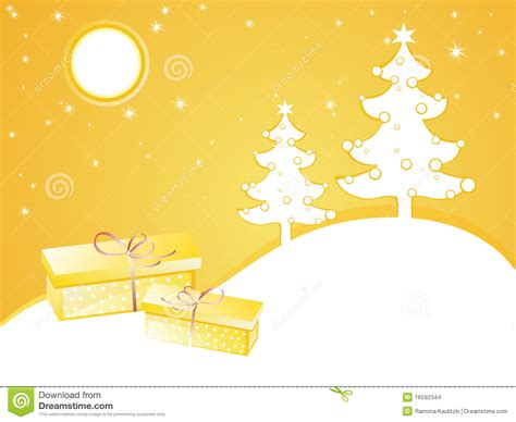 yellow christmas card stock illustration image of lines