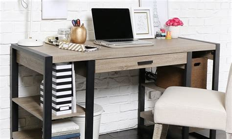 Office Desk For Small Space 5 Best Pieces Of Office Furniture For Small Spaces Overstock