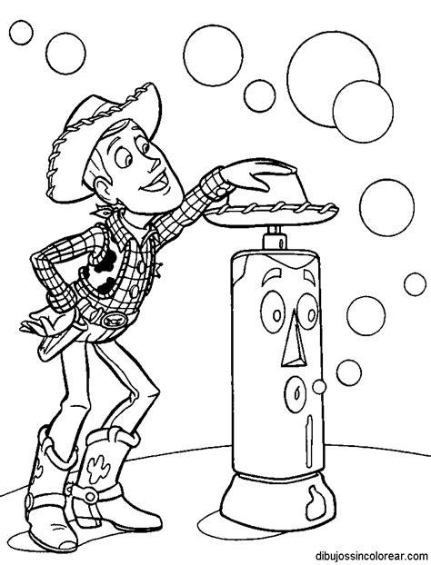 imagenes para colorear woody dibujos de woody de toy story para colorear
