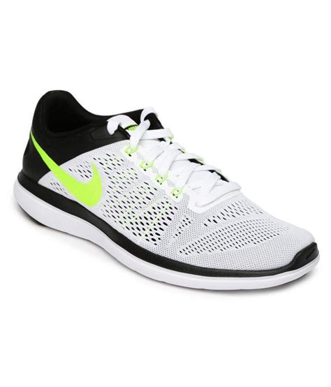 white nike running shoes nike flex 2016 rn white running shoes buy nike flex 2016