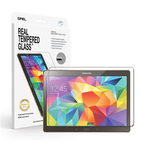 K Box Tempered Glass Samsung Tab A 10 1 Inch T580 galaxy tab s 10 5 screen protector real tempered glass premium collection of cases and