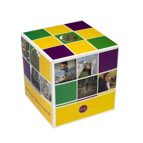 Tissue 200 Gr 2 Ply custom printed tissue box cube personalized with your logo
