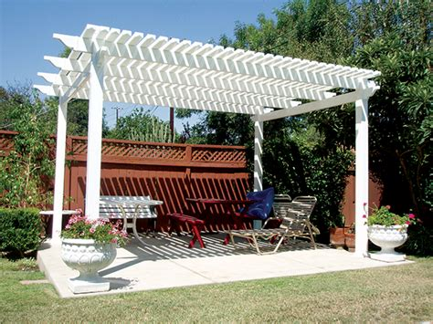 vinyl backyard pergolas lifetime warranty santa clarita