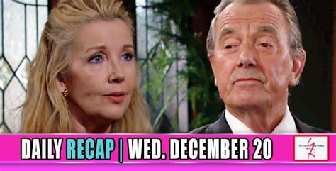 yr recap one night the young and the restless recaps the young and the restless yr recap nikki gave in to