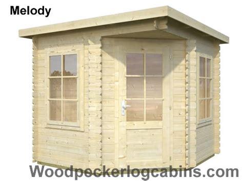 Woodpecker Log Cabin by Melody Summerhouse Woodpecker Log Cabins