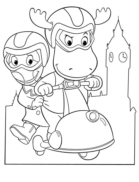 backyardigans halloween coloring pages backyardigans coloring pages jacb me