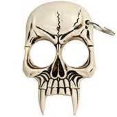 zombie skull 2 finger knuckle pk 546