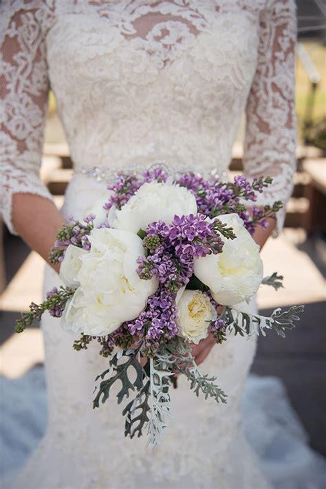 wedding bouquet lilac wedding wednesday lovely lilac bouquets flirty fleurs