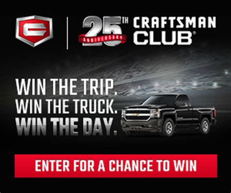 Anniversary Sweepstakes - craftsman 25th anniversary sweepstakes enter online sweeps