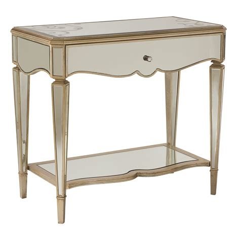 mirrored night stands bedroom white mirrored nightstand 28 images worlds away one drawer mirrored top white