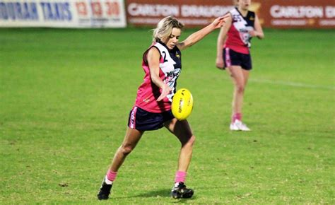 Football Hits Womens Bookshelves by Search For Future Afl S Talent Hits Mandurah