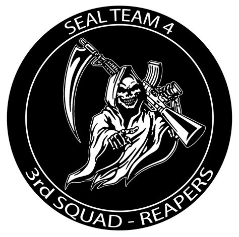 seal team one logo at seal team 4 3rd squad reapers photos