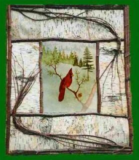 bird s eye view in a rustic retreat at saratoga springs treehouse quot birds eye view red cardinal in pine woods clearing