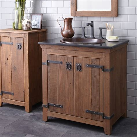 Rustic Modern Bathroom Vanities by Rustic Bathroom Vanities For Home Cookwithalocal Home