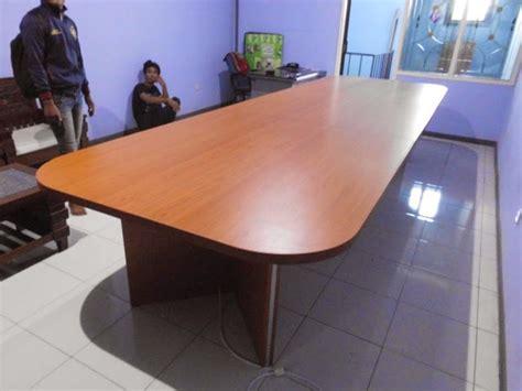 Meja Conference meja rapat meja meeting untuk 10 orang conference table for 10 person custom furniture