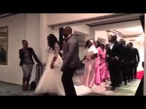 African Wedding Entrance Dance   YouTube