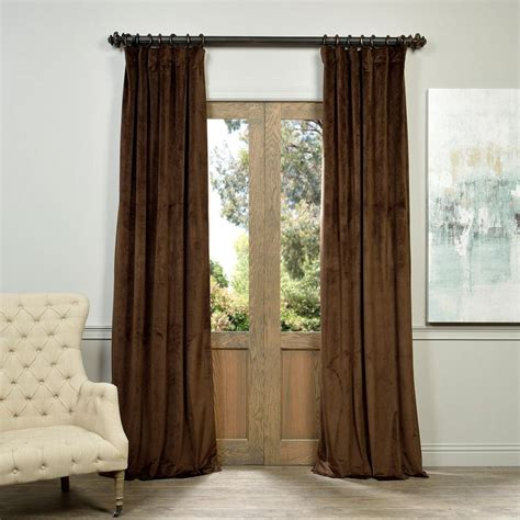 50 x 96 curtains exclusive fabrics furnishings blackout signature java