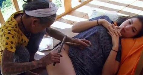 rhian ramos gets traditional tattoos pinoy scoop