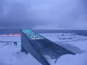 svalbard global seed vault norway longyearbyen most