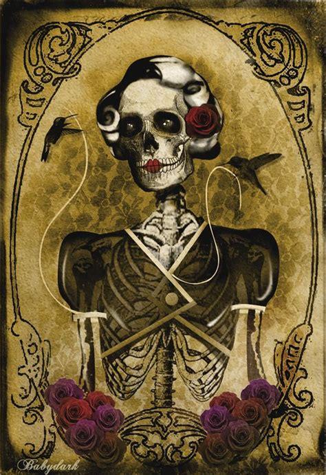 a few new skulls by theskullguy on deviantart skeleton goddess