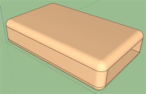 Blouse Import And 3f 33 10 Mnd rounded edges for wood knob sketchup sketchup community