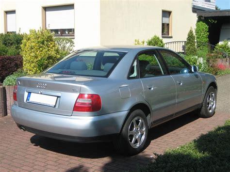Audi A4 Steuern by Audi A4 B5 B5 1 8 L Benziner Bj 1996 Details