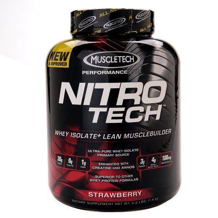 Whey Nitro Tech muscletech nitro tech whey protein isolate strawberry walgreens