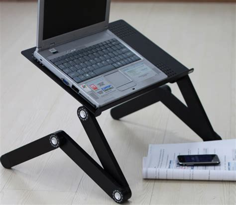 Laptop Cooling Desk Adjustable Laptop Cooler Desk Laptop Portable Desk For Bed