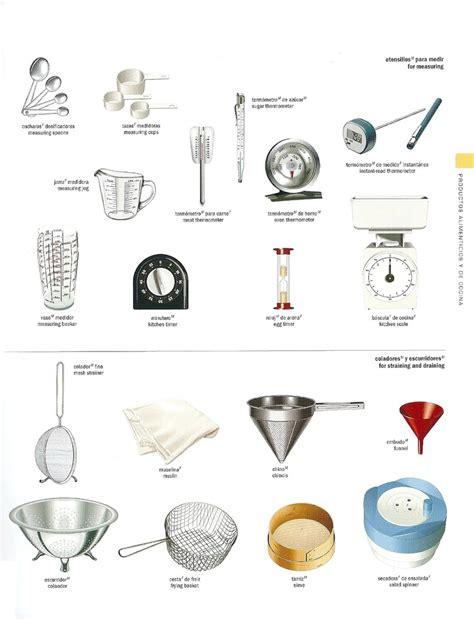 imagenes utensilios de cocina en ingles escribir en ingl 233 s y la traducci 243 n de los nombres de los