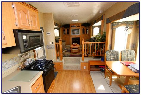 fifth wheel with front living room front living room fifth wheel trailers living room