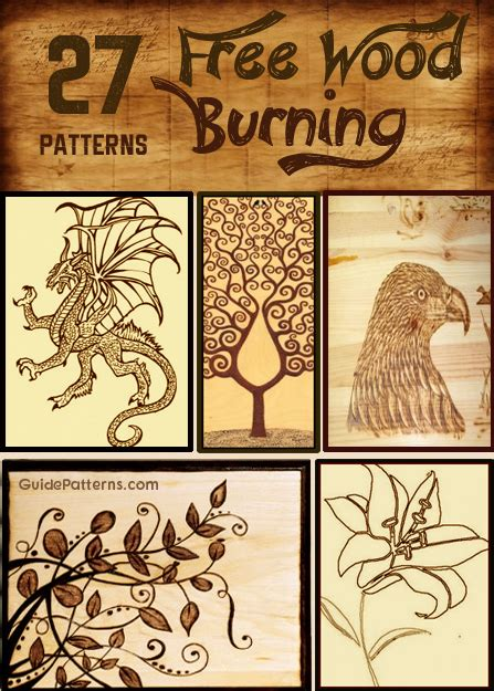 woodworking designs for beginners 27 free wood burning pattern ideas guide patterns
