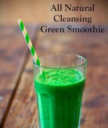 Colon Cleanse Detox Smoothie by All Colon Cleansing Green Smoothie My Best Badi