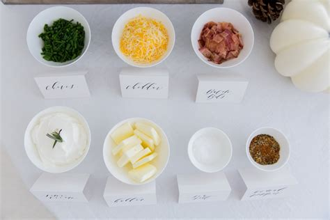 toppings for a mashed potato bar mashed potato toppings bar fashionable hostess