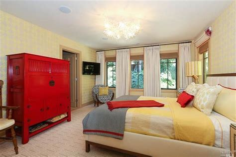 red yellow bedroom red and yellow bedroom dream home bedrooms pinterest