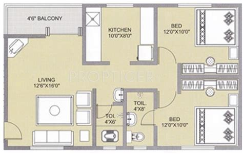 2bhk plan for 500 sq ft 800 sq ft 2 bhk floor plan image alcon regina available